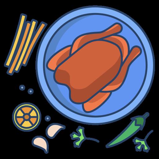 poulet  Icône gratuit
