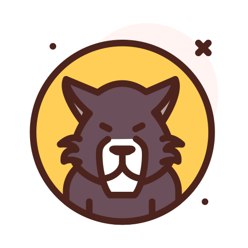 Wolf  free icon