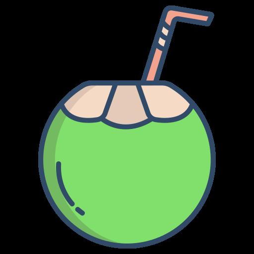 boisson à la noix de coco  Icône gratuit