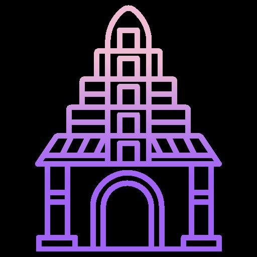 temple  Icône gratuit
