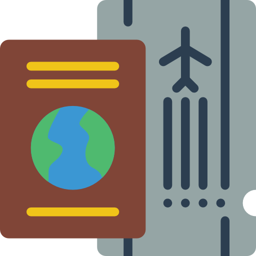 carte d'embarquement  Icône gratuit