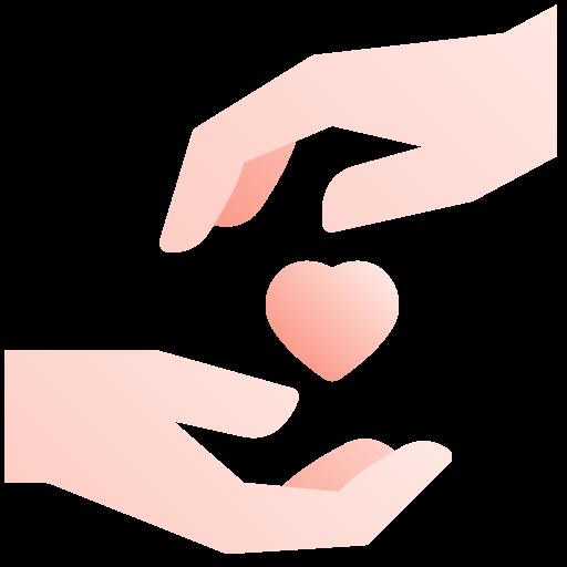 donner de l'amour  Icône gratuit