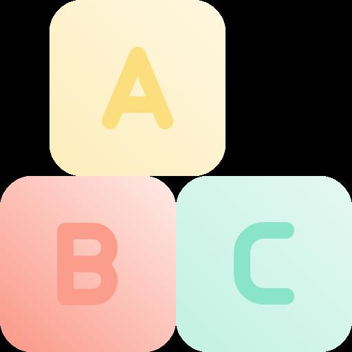 bloc abc  Icône gratuit