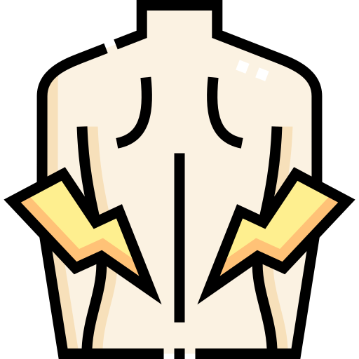 Back pain  free icon