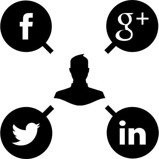 Social media campaign  free icon