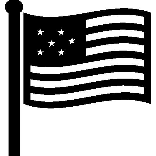 미국 국기  무료 아이콘