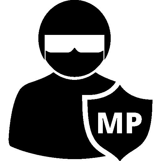 persona protegida del servicio secreto  icono gratis