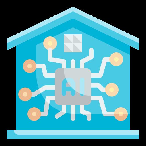 똑똑한 집  무료 아이콘