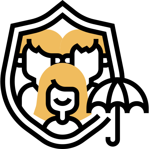 Life insurance  free icon