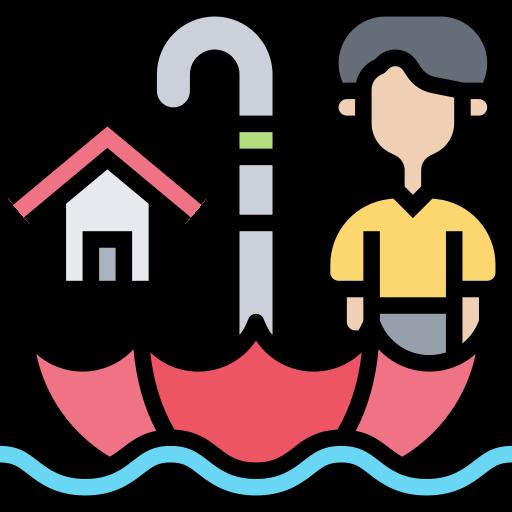 Flood  free icon