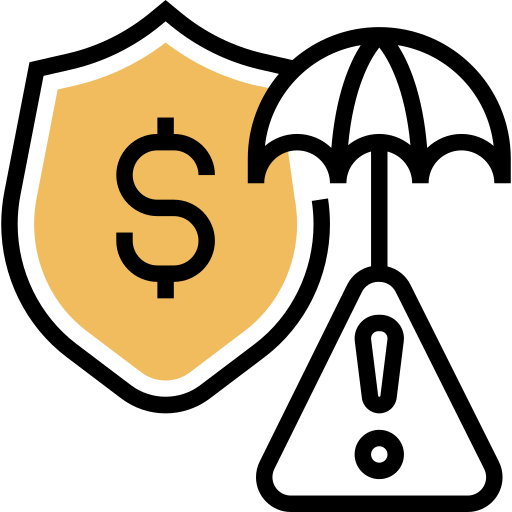gerenciamento de riscos  grátis ícone