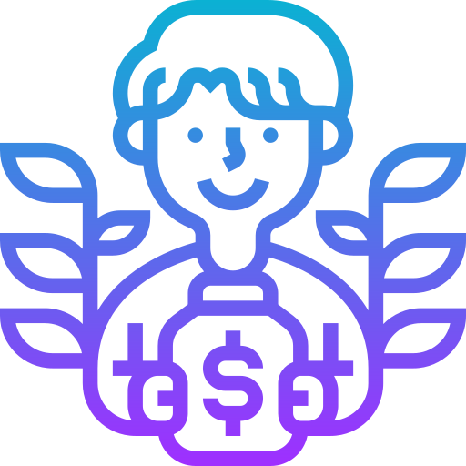 Saving  free icon