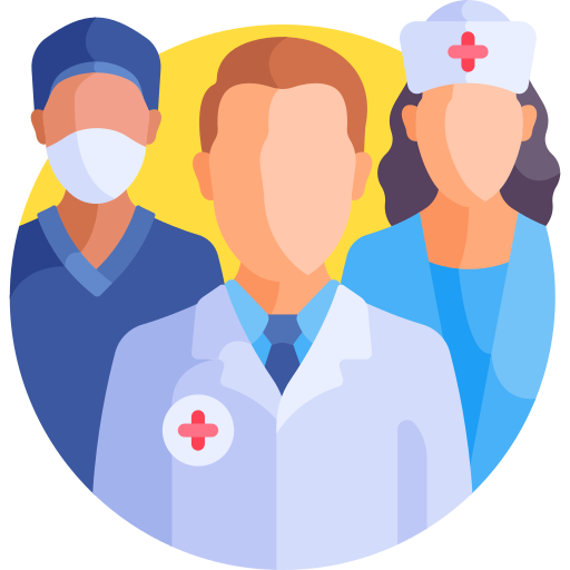 Medical team  free icon