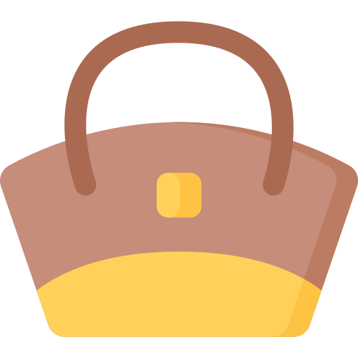 Leather bag  free icon