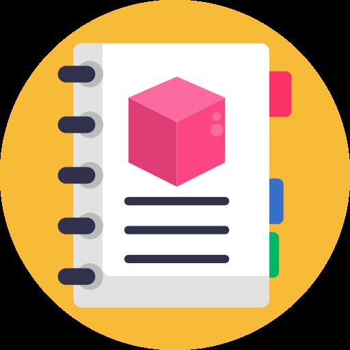 notizbuch  kostenlos Icon