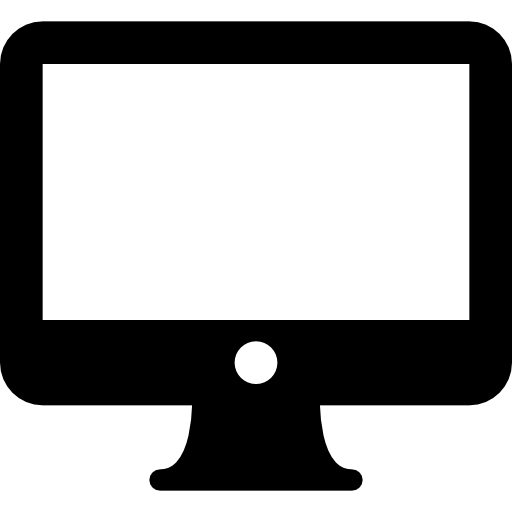 Imac  free icon