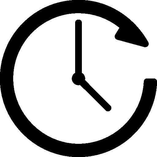 시계 방향  무료 아이콘
