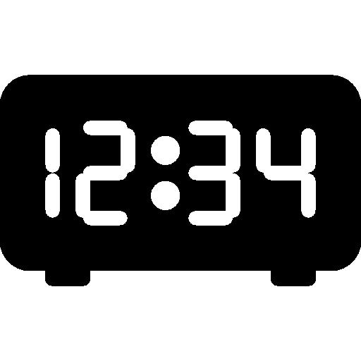 디지털 시계  무료 아이콘