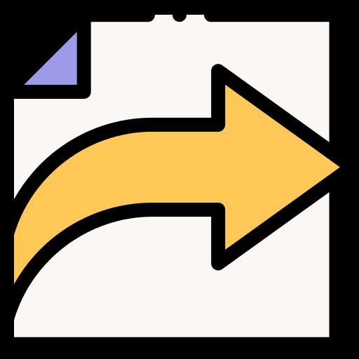 partage de données  Icône gratuit