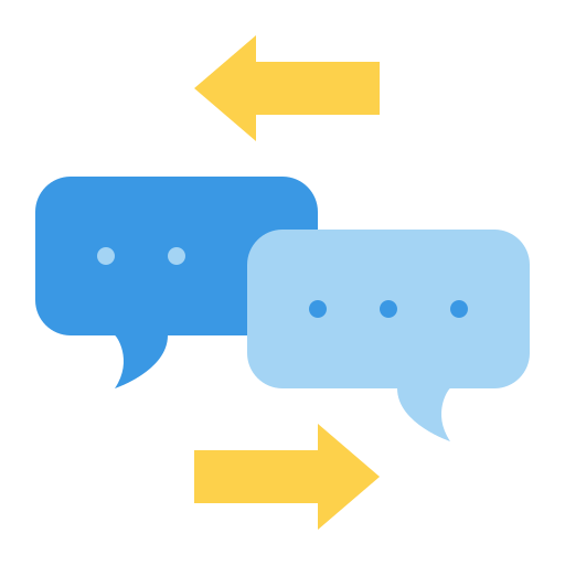 Online chat  free icon