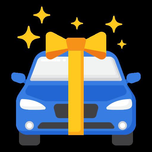 carro nuevo  icono gratis