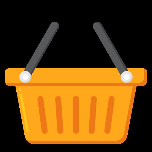 cesta de compras  grátis ícone