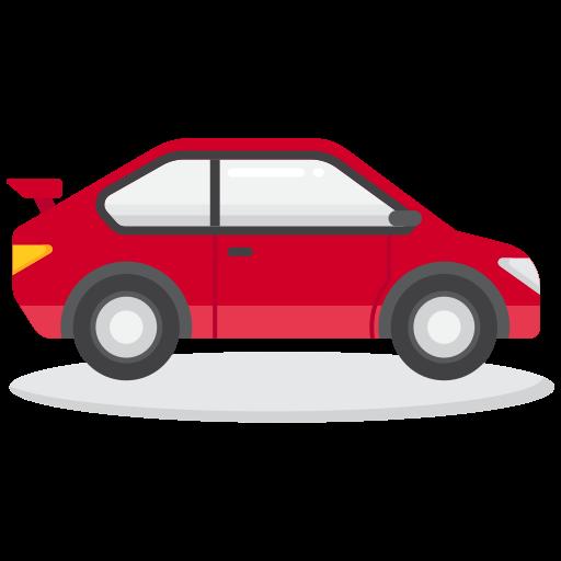 carro esporte  grátis ícone