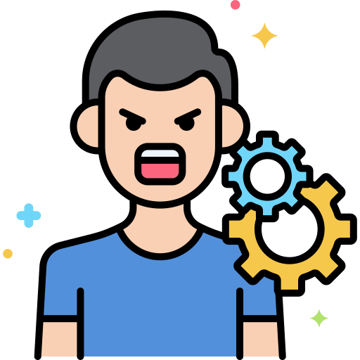 Anger  free icon