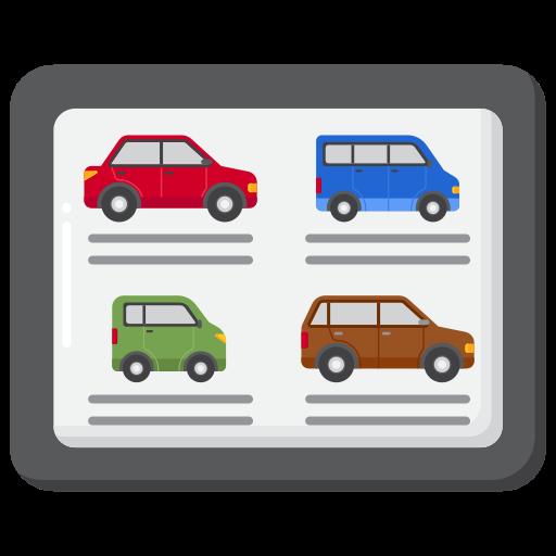 veículos  grátis ícone