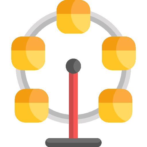 grande roue  Icône gratuit