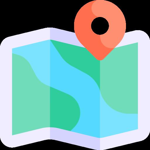 Maps  free icon