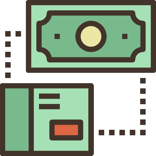돈  무료 아이콘