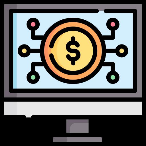 sistema bancário  grátis ícone