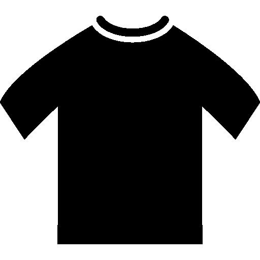 t-shirt homme noir  Icône gratuit