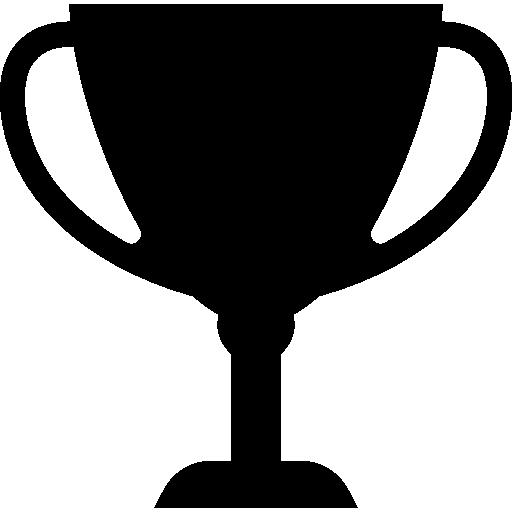 trophée silhouette  Icône gratuit