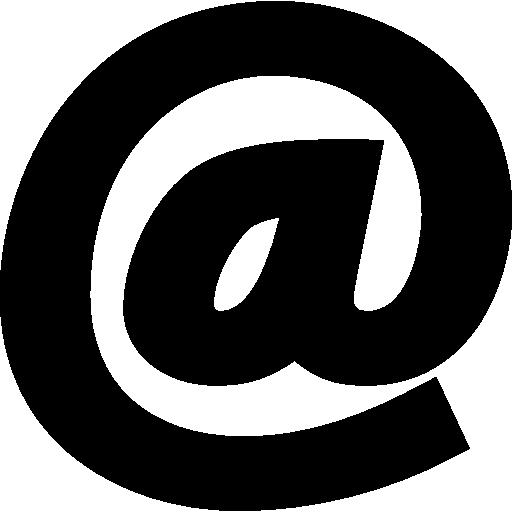 symbole arroba  Icône gratuit