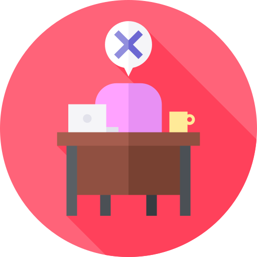 Absent  free icon