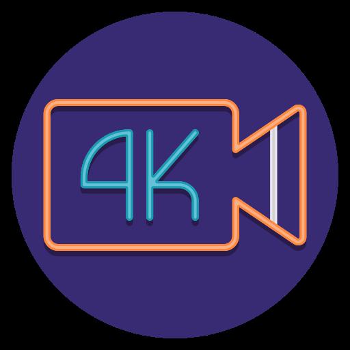 4k  free icon