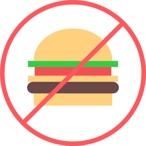 Без бургера  бесплатно иконка