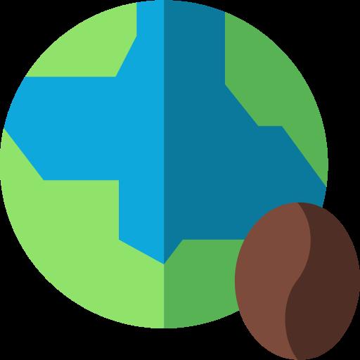 production de café  Icône gratuit