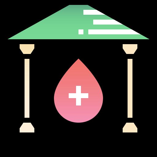 banque du sang  Icône gratuit