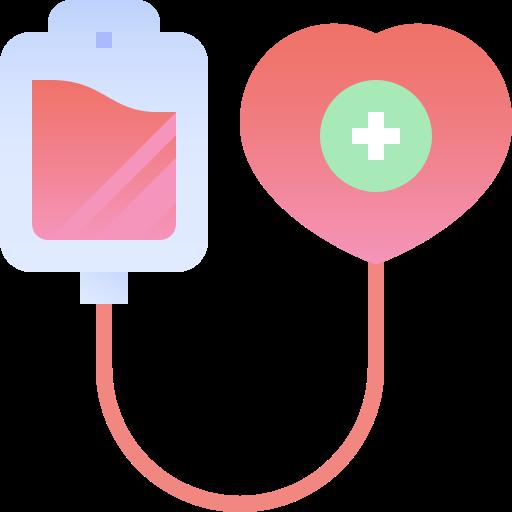 don de sang  Icône gratuit