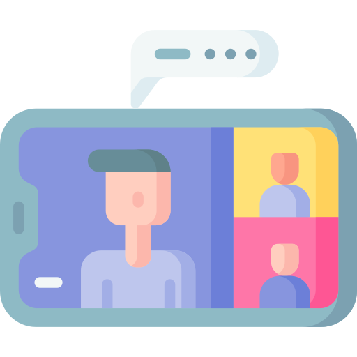 Video conference  free icon