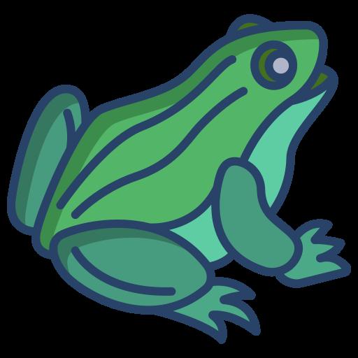 la grenouille  Icône gratuit