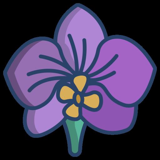 orchidée  Icône gratuit