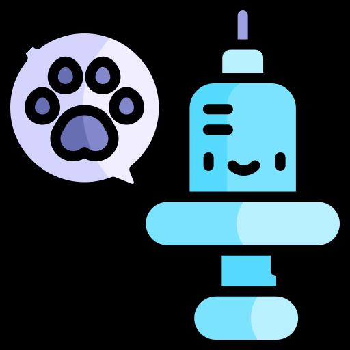 Animal vaccination  free icon