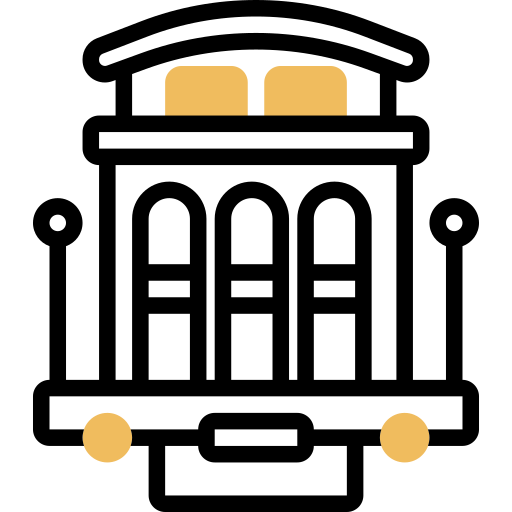 Cable car  free icon