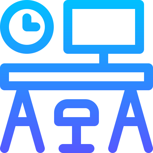 Workplace  free icon