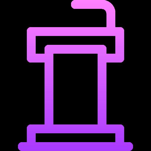 Tribune  free icon