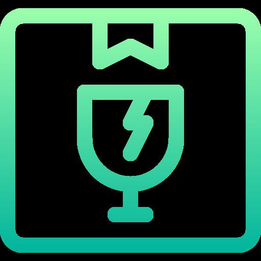 Fragile  free icon